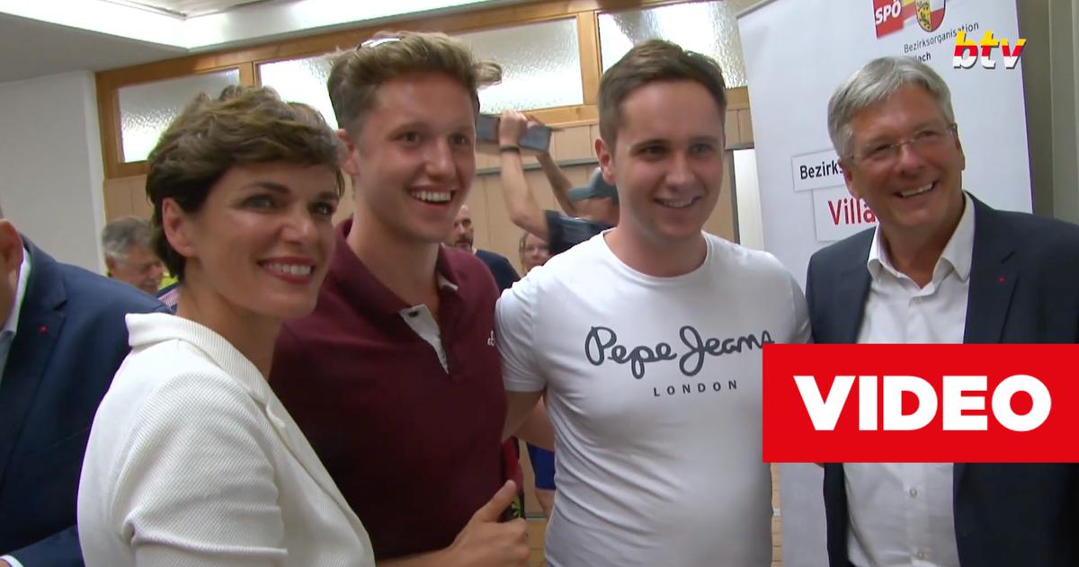 Pamela Rendi-Wagner machte auf ihrer Dialogtour durch Österreich in Kärnten Station